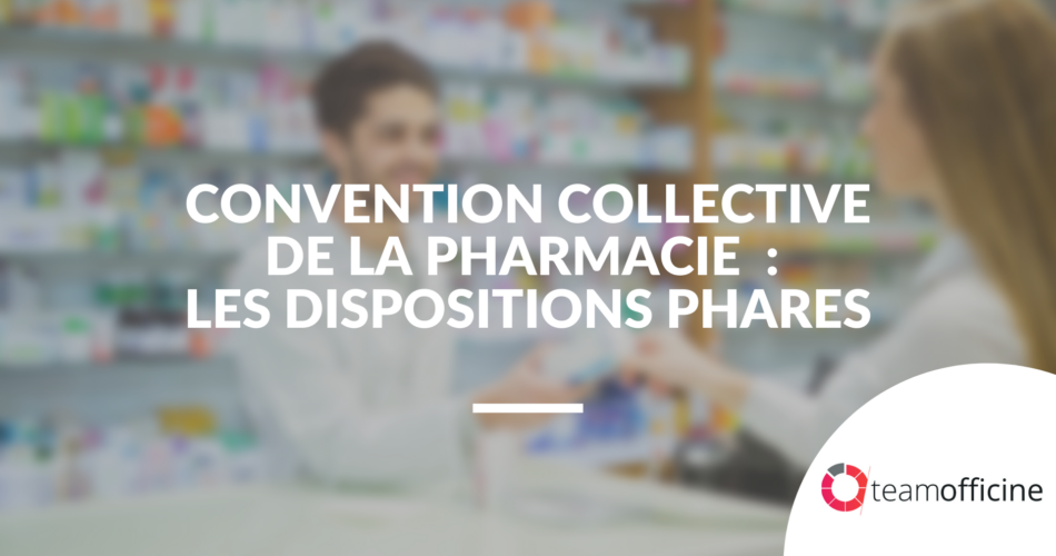 convention collective pharmacie