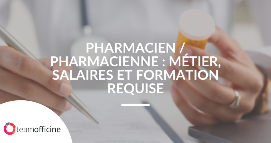 salaire formation pharmacien